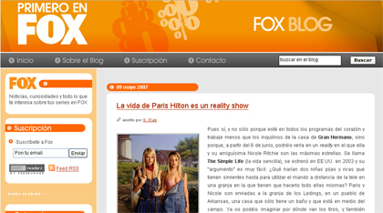 El blog de FOX