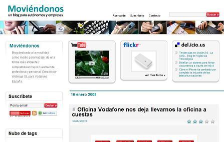 Moviéndonos, un blog dirigido a autónomos y empresas